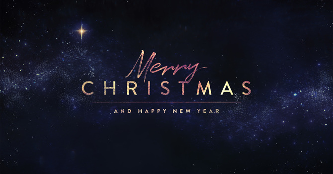 Thank You, Merry Christmas, and All God's Best in 2021 image