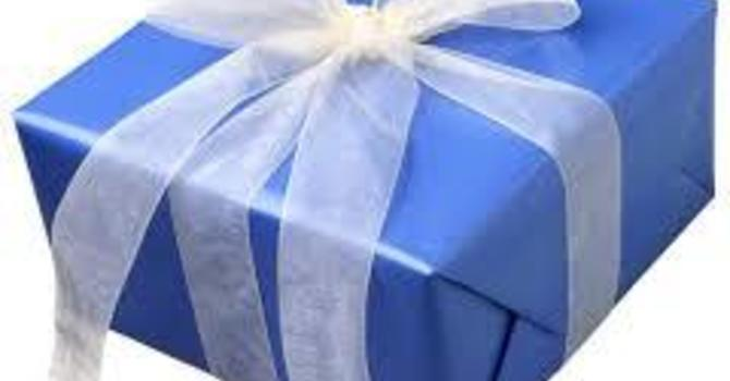 Anatomy of a Gift:  Pt. 3- The Giving of a Gift