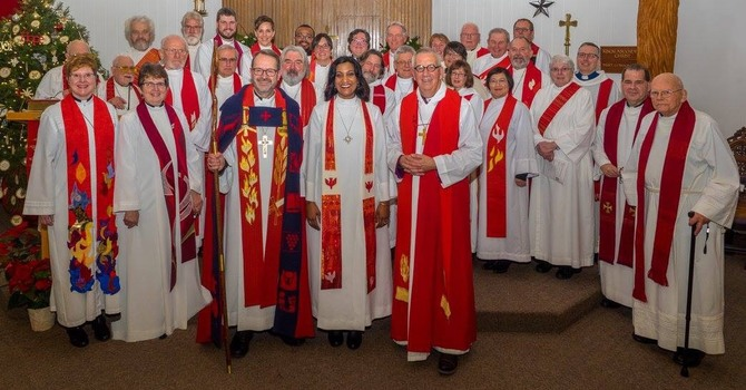 Our New Rector Aneeta Saroop's Ordination  image