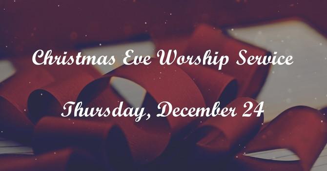 Christmas Eve Worship Service image