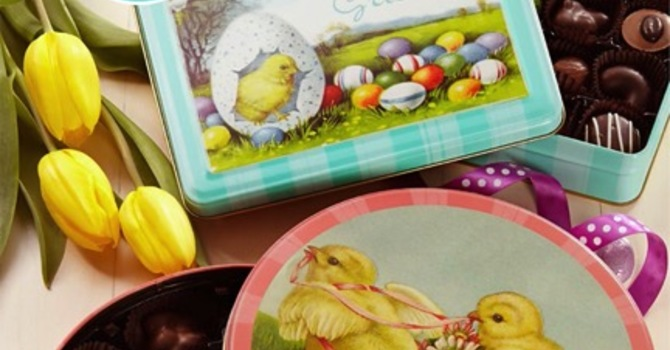 Order you Easter Chocolates from Purdys and benefit Spectrum image