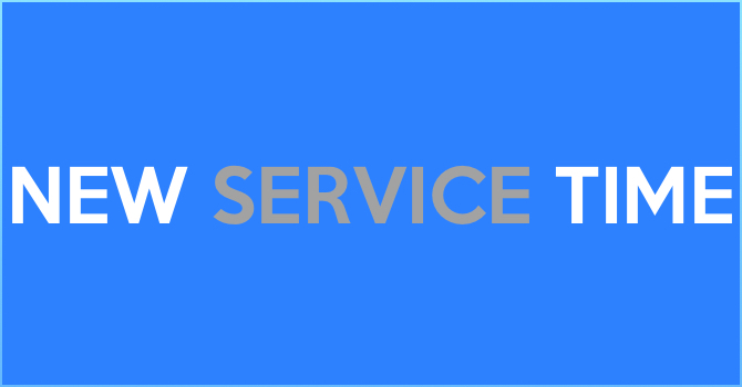 New Service Time image