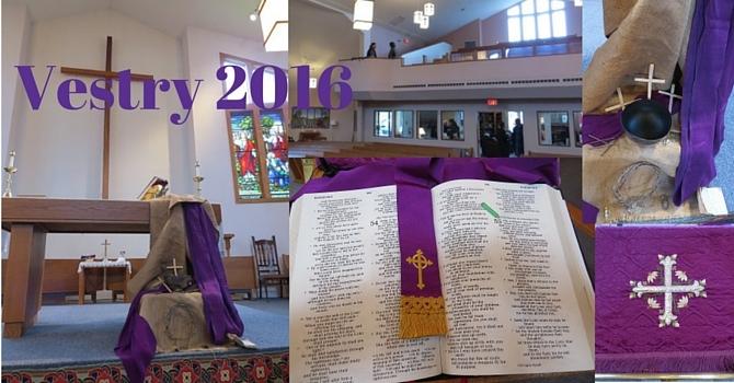 Service & Vestry 2016 image