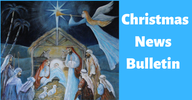 St. Paul's December 27th Weekly  News Bulletin image