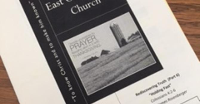 March 12, 2017 Church Bulletin image