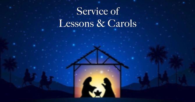 December 27, 2020 Lessons & Carols