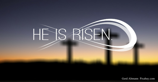 On-Line Easter Sunday  8:00 a.m. Service image