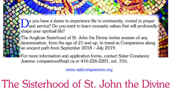 SSJD Invites Young Women to Walk an Ancient Path