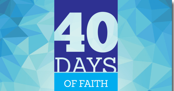 40 Days of Faith and Hope in Action image