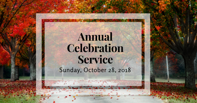 Annual Celebration Service