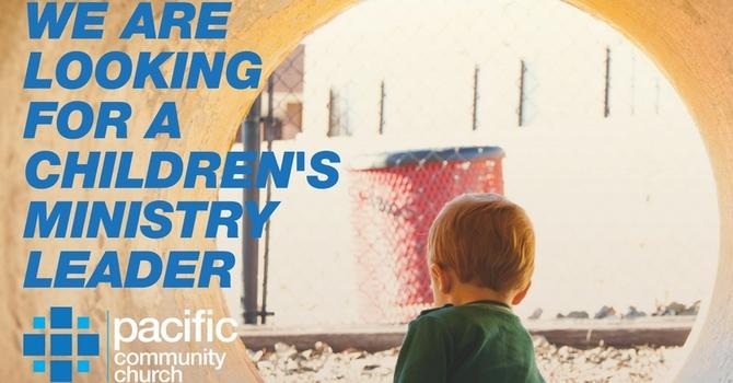Children's Ministry Job Position image