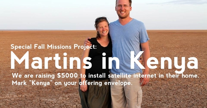 Special Project: Martins in Kenya image
