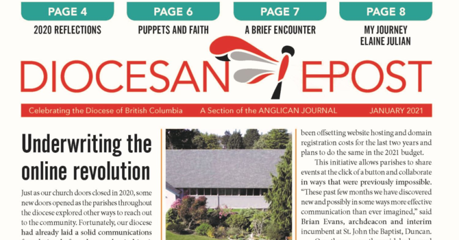 January 2021 Diocesan Post Now Available image