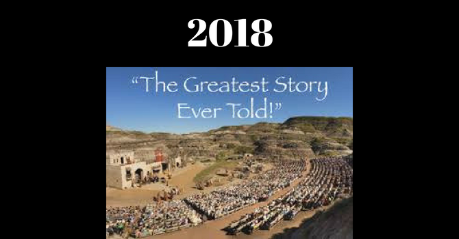 2018 Passion Play ~ Drumheller AB image