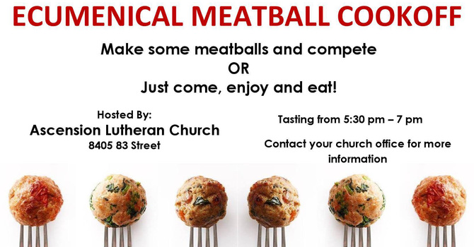 Ecumenical Meatball Cookoff