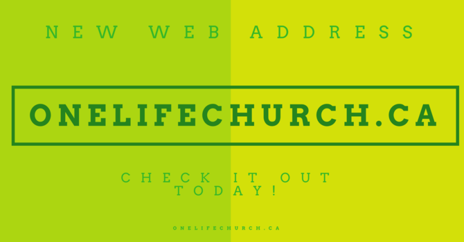 ONELIFECHURCH.CA image