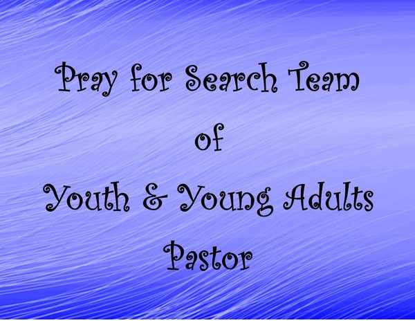 Pray for Search Team