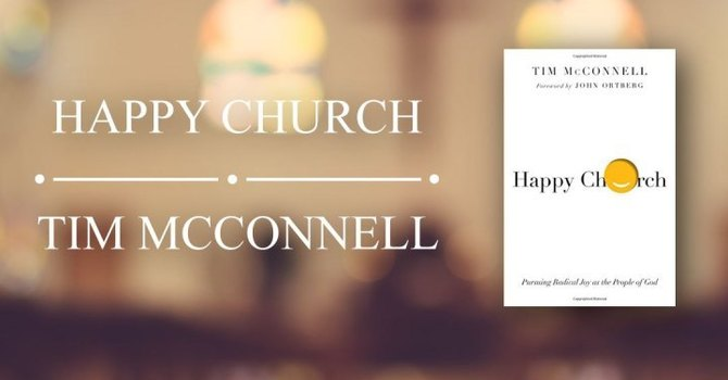 """Hooked on Books presents: """"Happy Church""""  image"""