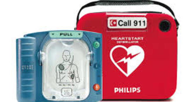 AED (Defibrillator)  Now On Site image