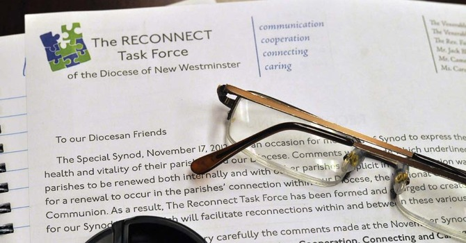 RECONNECT Task Force Chair Visits the Synod Office image