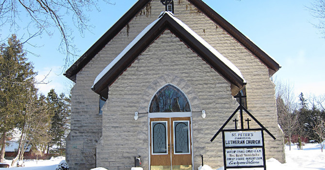 Trinity Church with St. Peter's Lutheran, Wiarton