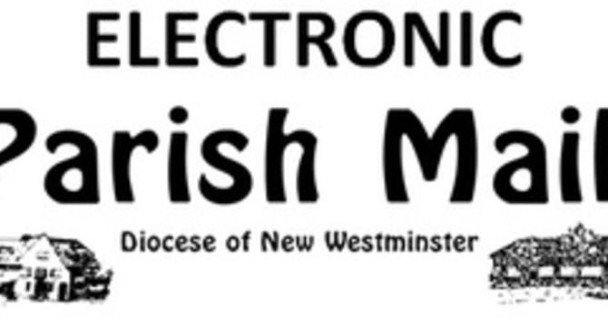 Deadline for Oct 3 Parish Mail