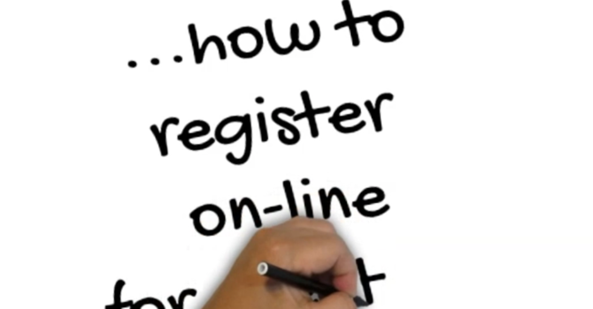 How to... register on-line for events... image