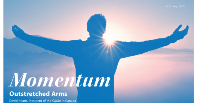 February Momentum: Outstretched Arms image