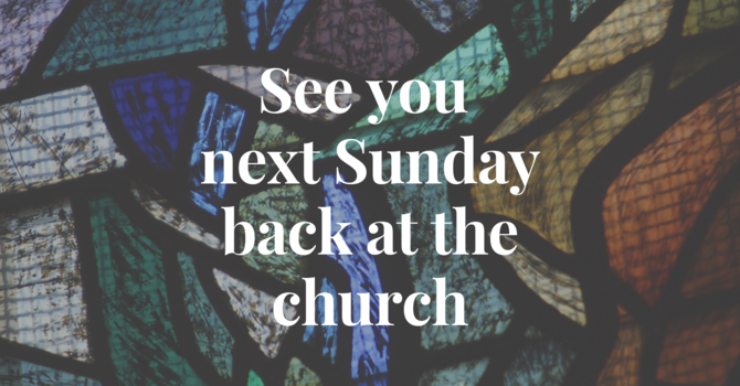 Thanksgiving Sunday -  Combined Worship Service at 10am! image