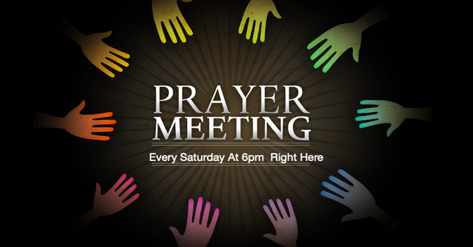 Saturday Night Prayer
