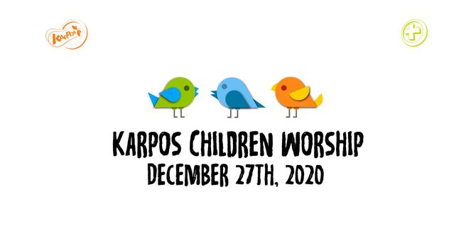 201227 Elementary Sunday Worship