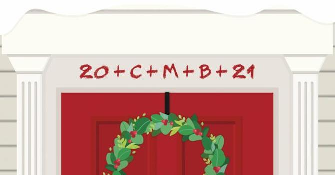 Don't forget to chalk your door! image