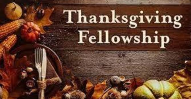 Thanksgiving Services and Fellowship