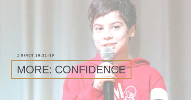 Looking for more: Confidence image