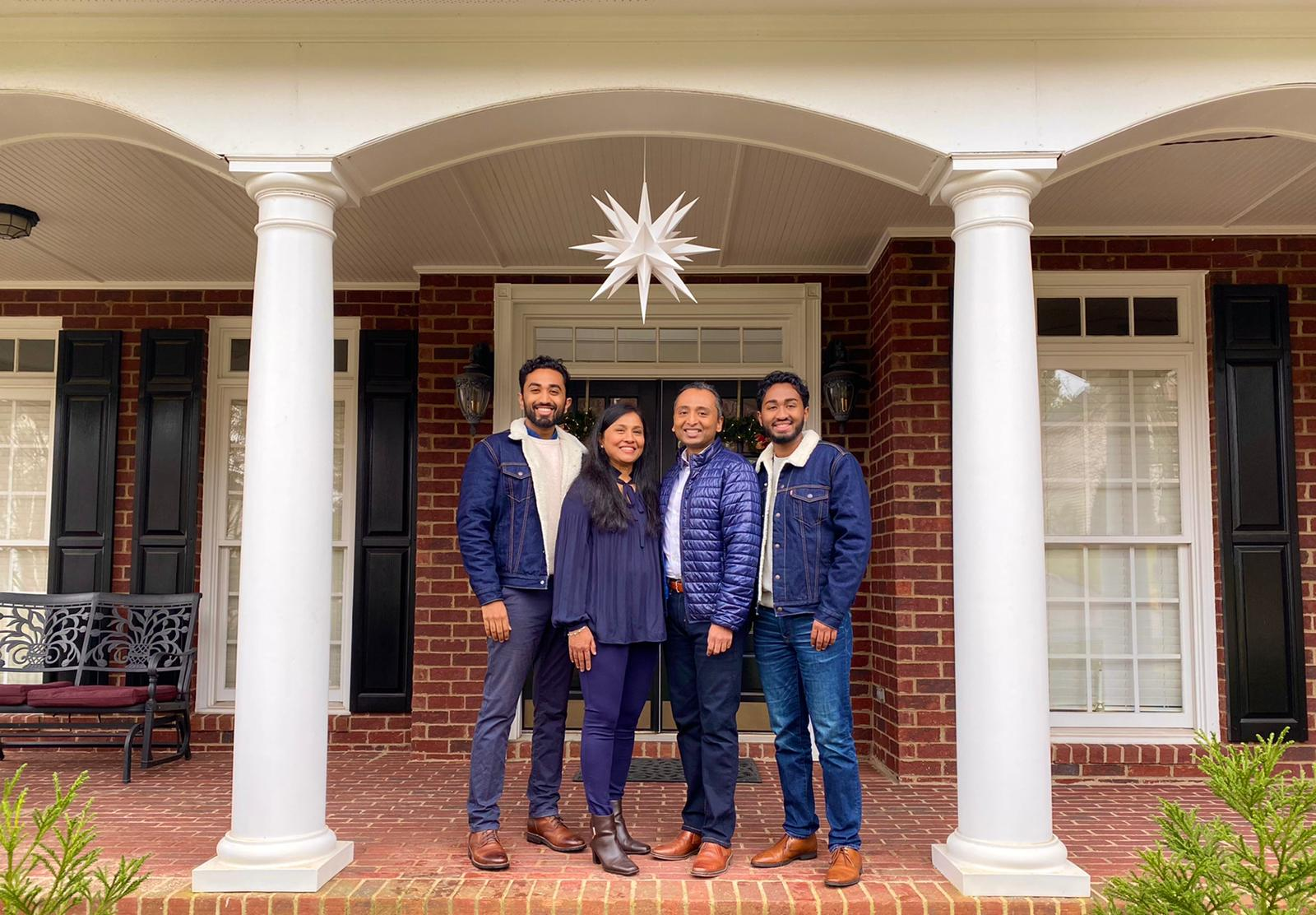 Thomas Family - December 2020
