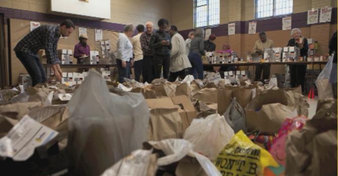 This Sunday's Weston Community Christmas Food Drive image