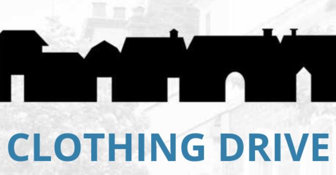 Clothing Drive image