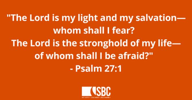 October Prayer Verse image