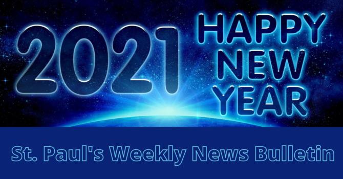 January 3rd Weekly News Bulletin image