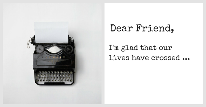 Dear Friend image