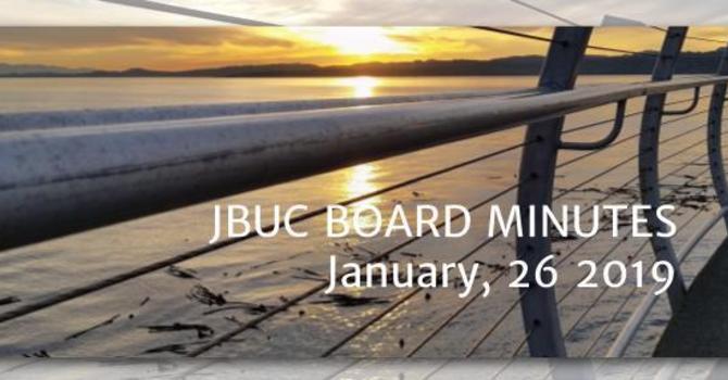 JBUC Board Minutes. image