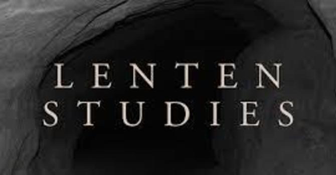 A New Lenten Series image