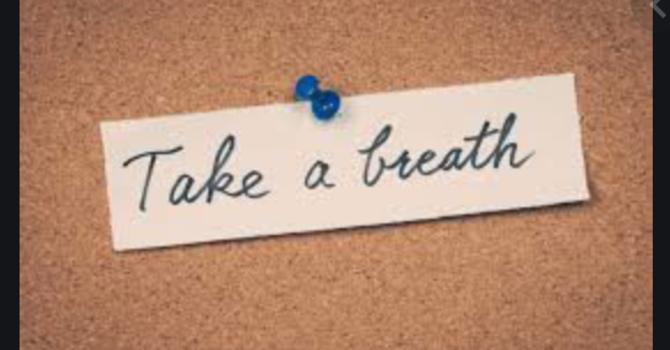 """""""Taking a Breath"""""""