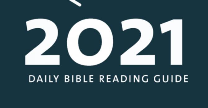 2021 New Testament Reading plan image