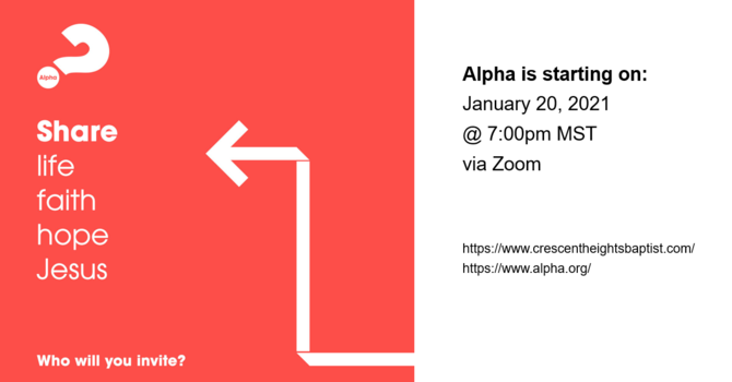 Alpha is coming! image