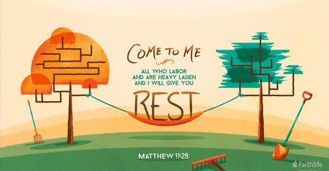 I Will Give You Rest Part I