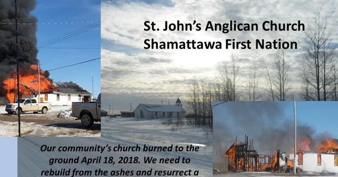 Gofundme Page for Northern Manitoba Church image