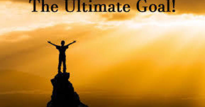 The Ultimate Goal