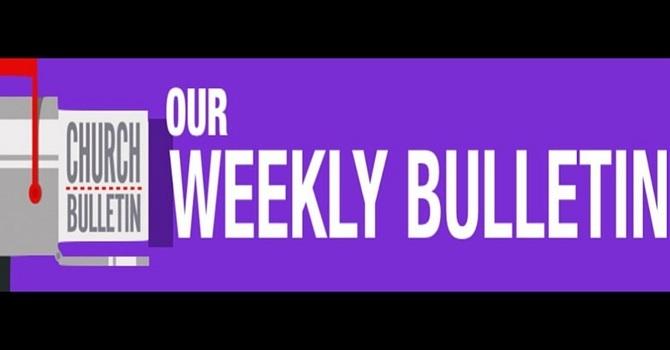 Weekly Bulletin   February 21, 2016 image