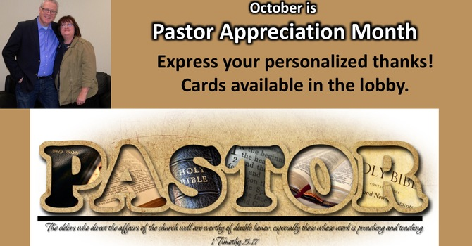 Pastor Appreciation image